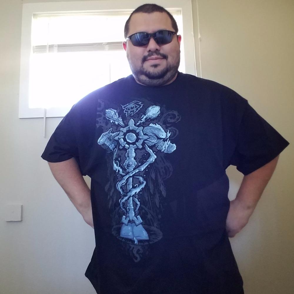 JINX World of Warcraft Mage Kirin Tor Symbol Premium T-Shirt Black