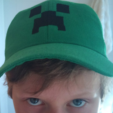 cdc408389ca51 Official Minecraft Store – Powered by J!NX   Minecraft Creeper Flexfit Hat